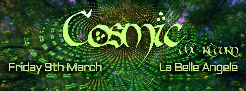 Cosmic - 9th March 2018